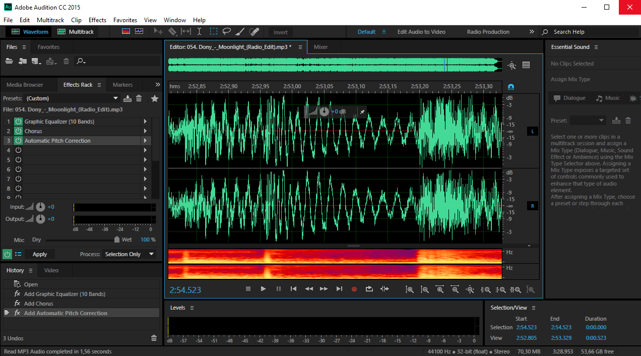 Adobe Audition - редактор звука Адобе Аудишн