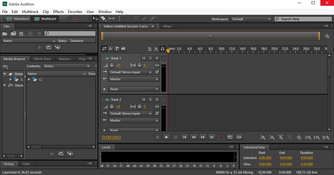 Компонет Адобе Мастер Коллекшн - Adobe Audition CS6