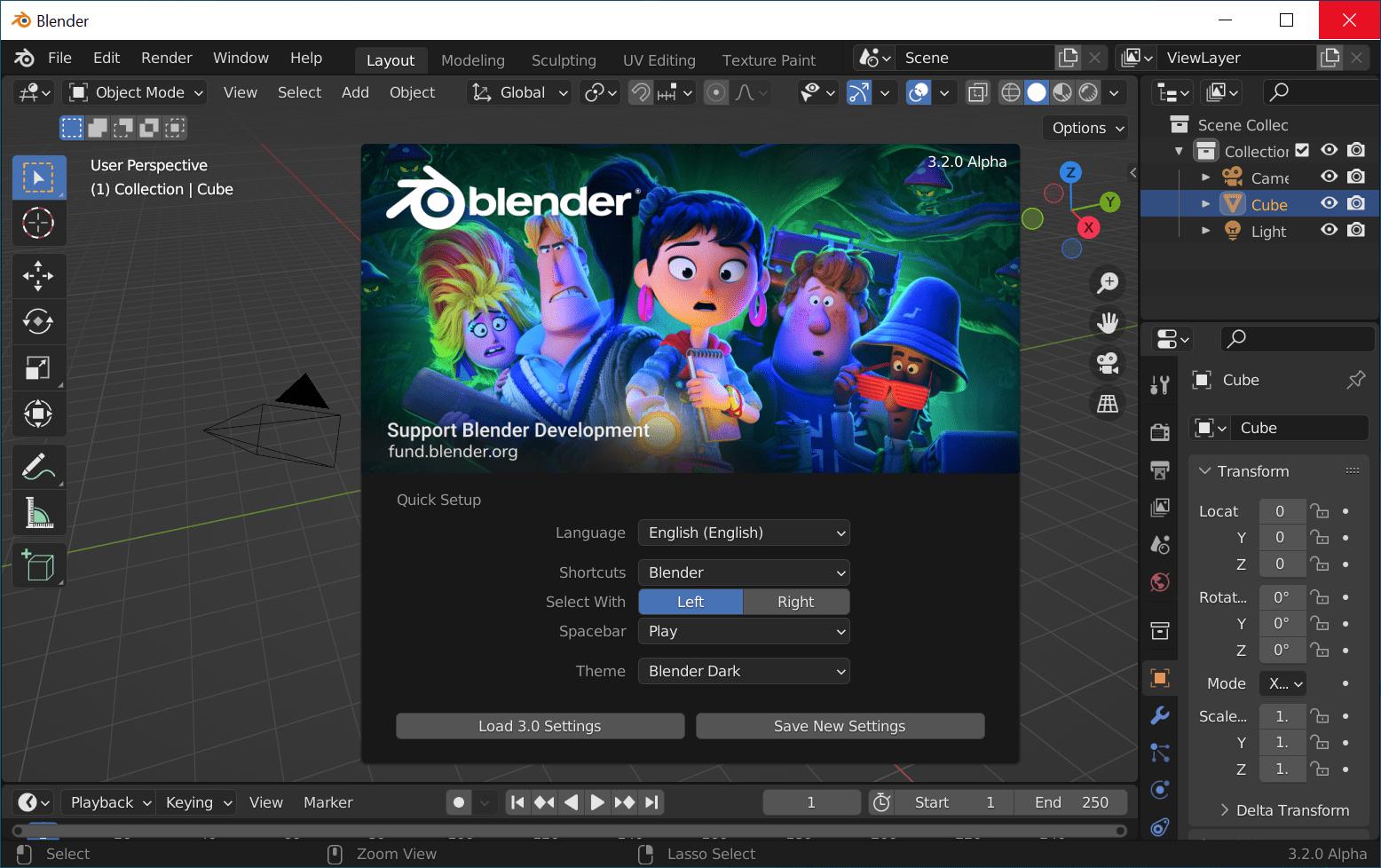 Blender 3D - программа для 3D моделирования Блендер