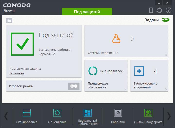 Comodo Firewall - Комодо Файрвол