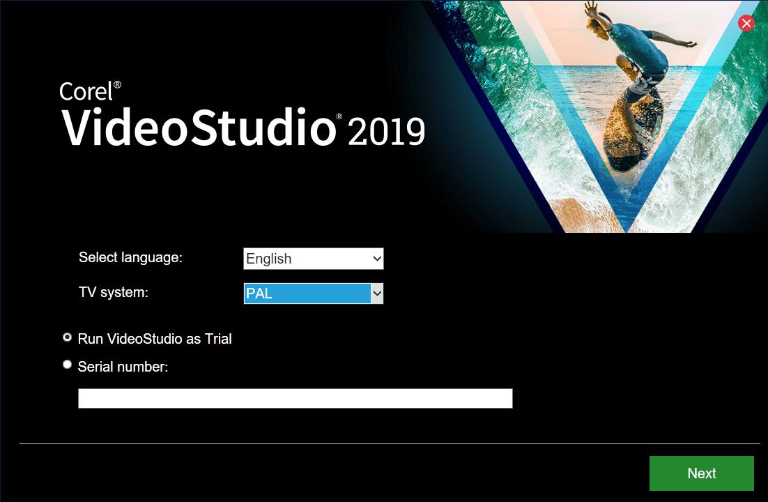 Скачать Corel VideoStudio 2019 - видеоредактор Корел Видео Студио 2019