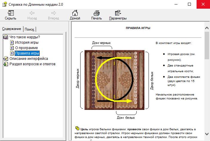 Длинные Нарды 2.0 - правила игры