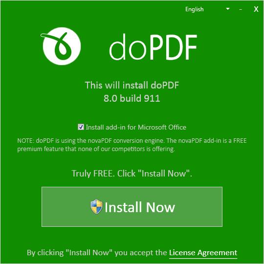 doPDF - конвертер документов Ду ПДФ