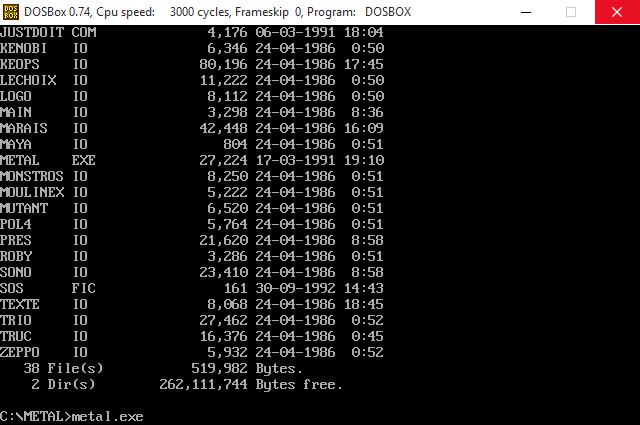 Запуск игр в эмуляторе MS-DOS ДОСБокс