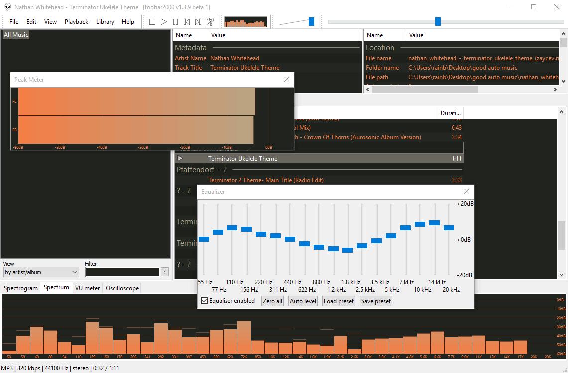 Foobar2000 - аудиопроигрыватель Фубар 2000