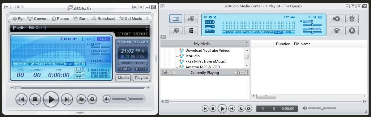 Медиаплеер jetAudio (Джет Аудио)
