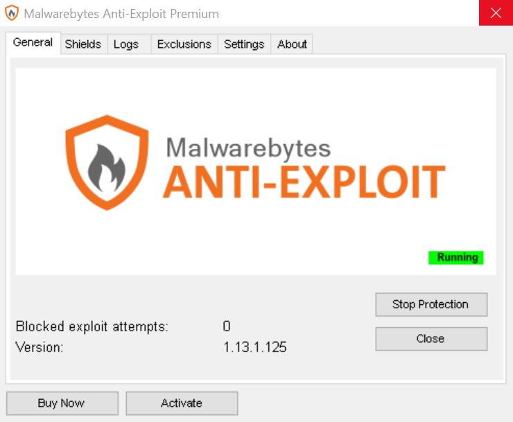 Malwarebytes Anti-Exploit - антивирусная утилита Малваребайтс АнтиЭксплойт