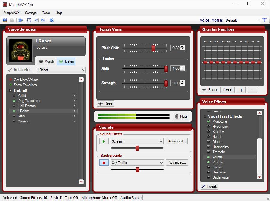 MorphVOX Pro - программа для изменения голоса МорфВокс