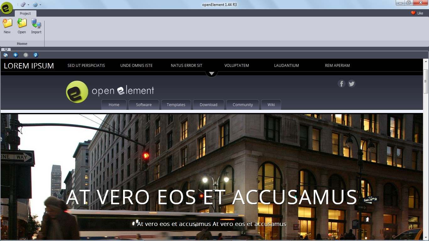 openElement - визуальный редактор HTML ОпенЭлемент
