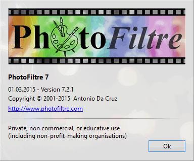 PhotoFiltre 7 Free - бесплатен для личного использования