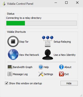 Подключение Pirate Browser к сети Tor