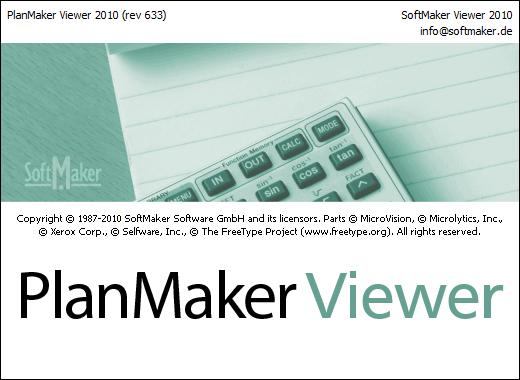 PlanMaker Viewer - просмотрщик электронных таблиц