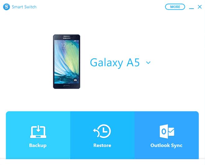 Smart Switch - подключение телефона Samsung Galaxy к ПК