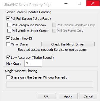 UltraVNC Server