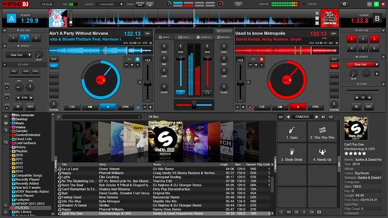 Virtual DJ - программа для микширования звука