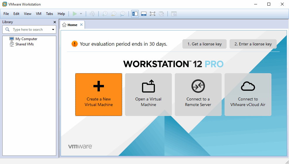 VMware Workstation - виртуальная машина для Windows